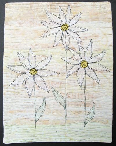 Lisa Ellis - Journal Quilts : daisy quilts - Adamdwight.com