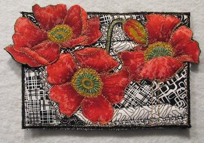 Lisa Ellis - Journal Quilts : postcard quilts - Adamdwight.com